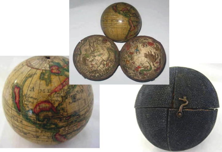 Philip Lea pocket globe.