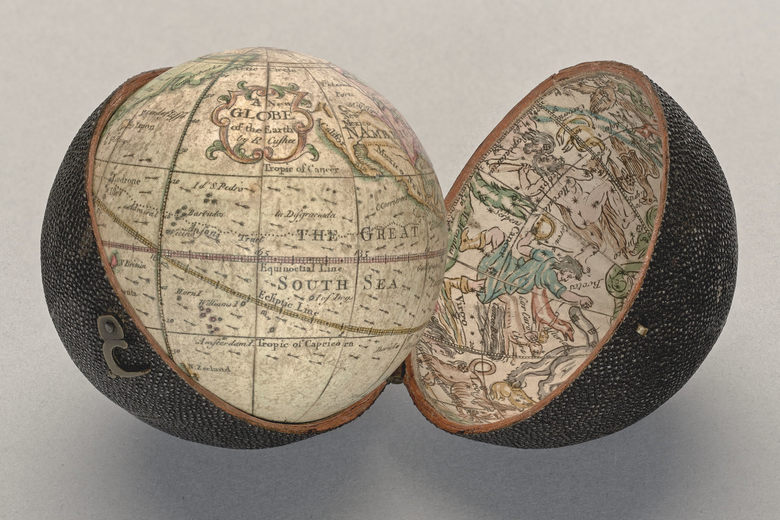 "Elizabeth Cushee, ""A New Globe of the Earth"" ca. 1745."