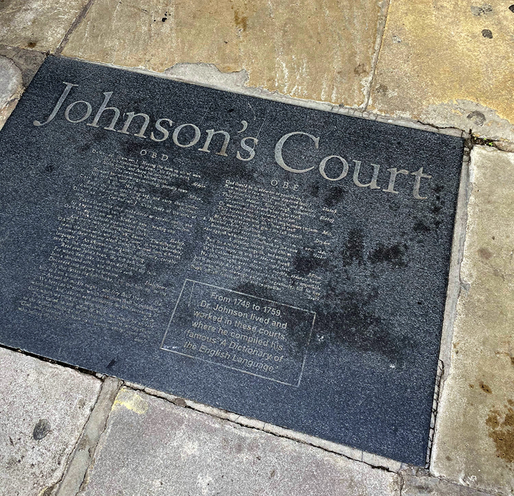 Entrance to Johnson's Court in 2020.